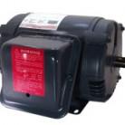 Century 3 HP Air Compressor Motor, 1 phase, 1800 RPM, 115/230 V, 184T Frame, ODP – V201M2