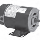 Century electric motor BN23V1 1/2HP-3450 RPM-48Y Frame-115VAC 1PH
