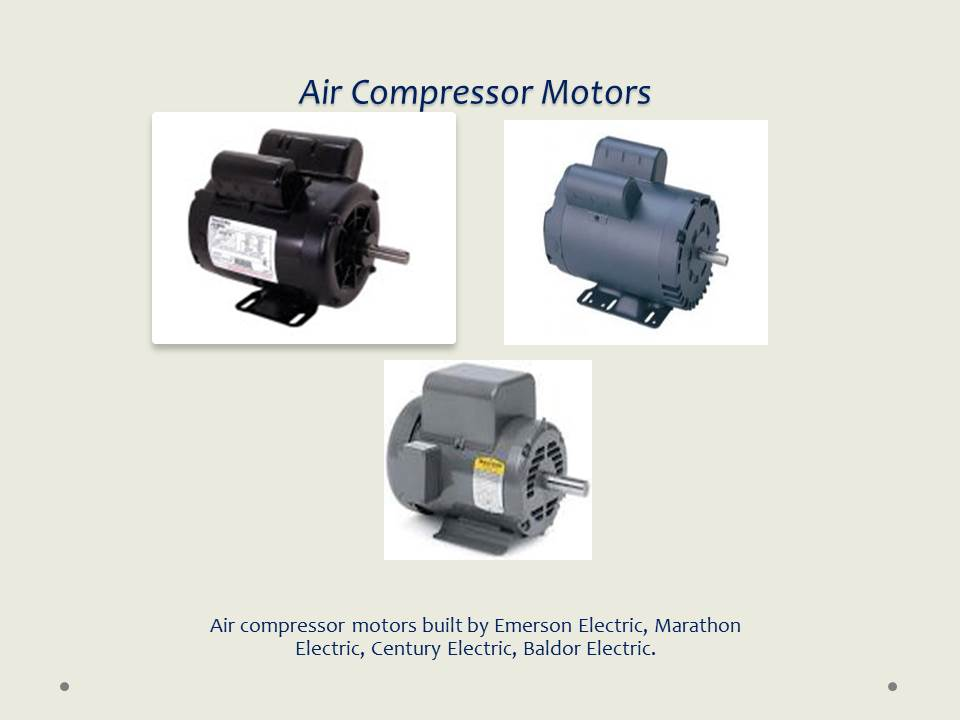 Doerr motor cross reference for Air compressor for pool closing
