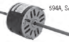 Century electric motor 594A 1/2HP, 1/3HP, 1/4HP 1075 RPM, 48Y Frame, 115VAC