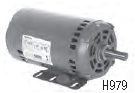 Century 5.0 HP OEM Replacement HVAC/R Motor, 3 phase, 1800 RPM, 208-230/460 V, 56Y Frame, ODP – H979L