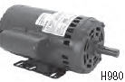 Century 3.0 HP OEM Replacement HVAC/R Motor, 3 phase, 1800 RPM, 208-230/460 V, 56Y Frame, ODP – H980L