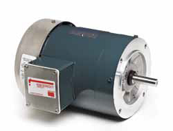 WET ENVIRONMENT-CAR WASH MOTOR-TEFC 3-PHASE AC