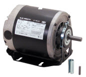 FAN & BLOWER MOTORS -RESILIENT / CRADLE MOUNT 1-PHASE AC